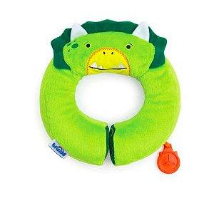 Almofada para pescoço Infantil Green Dino Trunki