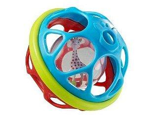 Chocalho mordedor Softball Sophie la girafe