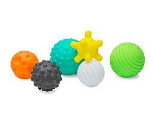 Kit de bolinhas de silicone texturizadas Infantino