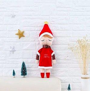 Boneca Metoo Angela Star Natal - personalizada com nome