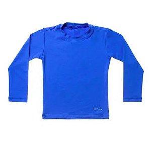 Camiseta de banho Azul Royal com UV 50+ Bupbaby