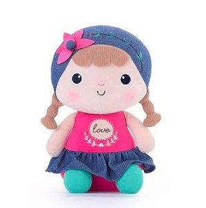 Boneca Metoo Naughty Girl Love personalizada com nome