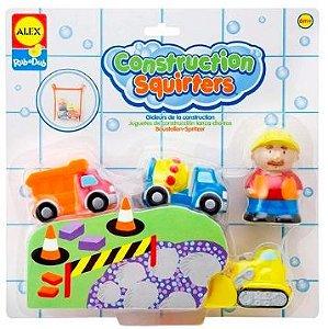 Brinquedo de banho Construction Squirters Alex Toys