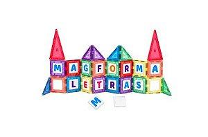 Blocos magneticos Magforma ABC - 40 peças