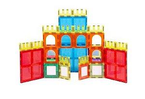 Blocos Magnéticos Castelo 56 peças - Magforma