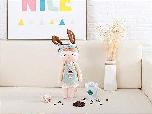 Boneca Angela Chocolate Coffee personalizada com nome - Metoo