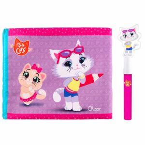 Livro mágico Toy 44 Cats Milady Chicco