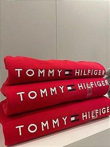 Casaco moletom forrado vermelho - Tommy Hilfiger