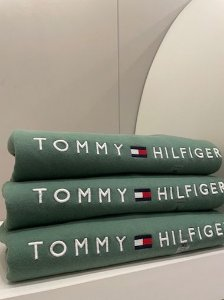 Casaco moletom forrado verde - Tommy Hilfiger