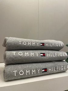 Casaco moletom forrado cinza - Tommy Hilfiger