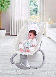 Cadeira de Balanço Automática com Bluetooth Techno Cinza Fit - Mastela