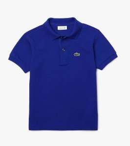 Polo Infantil Azul - Lacoste