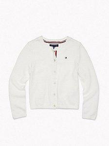 Cardigan lã branco - Tommy Hilfiger