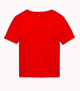 Camiseta algodão Vermelha - Tommy Hilfiger