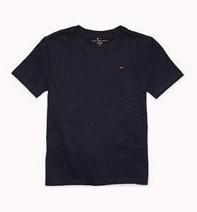 Camiseta algodão Azul Marinho - Tommy Hilfiger