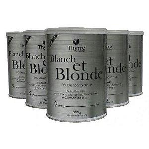 Pó descolorante Blanch et Blonde THYRRE 500 gr 9 TONS