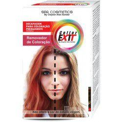 Collor Exit - Color exite  kit removedor de coloração despigmentador de fios
