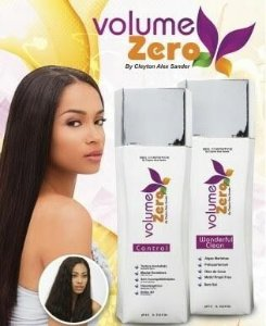 VOLUME ZERO Escova Progressiva Shampoo e Ativo