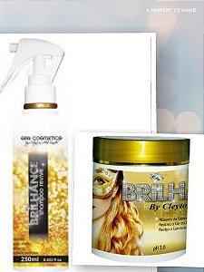 Kit Brilhance Alto Brilho com Shampoo e Máscara
