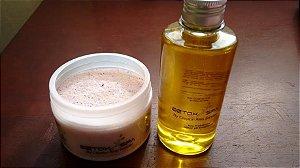 Peeling Capilar SPA para remover a intoxicação por produtos químicos, principalmente progressivas nos cabelos Detox