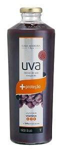 Casa Madeira Suco Nectar de Uva c/ Vitamina A E K + Proteção (1L)