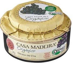 Casa Madeira Geleia Orgânica de Uva (240g)