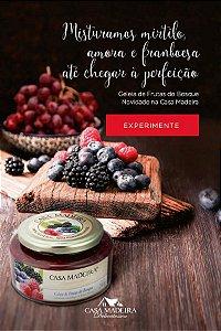 Casa Madeira Geleia Tradicional de Frutas do Bosque (240g)