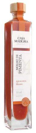 Casa Madeira Molho de Pimenta Malagueta com Brandy (50ml)