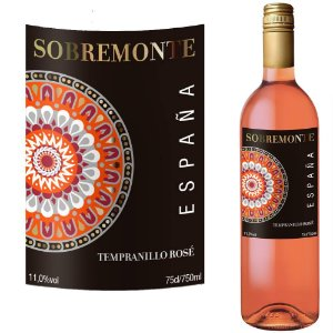 Sobremonte Rose Tempranillo (750ml)
