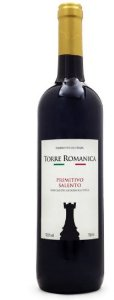 Torre Romanica Primitivo Salento  (750ml)