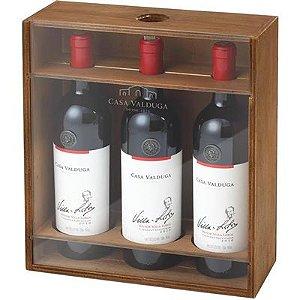 Kit Casa Valduga Villa-Lobos  (caixa de madeira com acrílico)