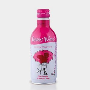 Vinho Rosé Frisante Seco Lovers (250ml)