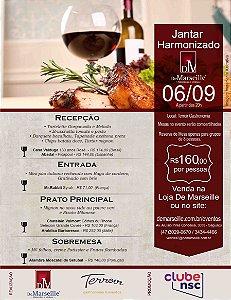 Jantar Harmonizado 06/09 (Terroir Gastronomia)