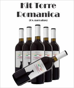 Combo Torre Românica (Opções das uvas, Vide Descrição)
