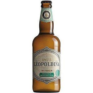Cerveja Leopoldina Witbier (Limão Siciliano e Coentro) (500ml)
