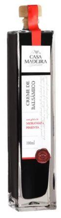 Casa Madeira Creme de Balsâmico Gourmet com Geleia de Morango e Pimenta (100ml)