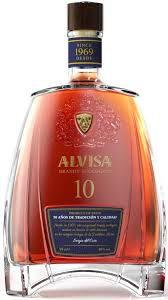 Alvisa Brandy Ecologico 10 Anos (750ml)