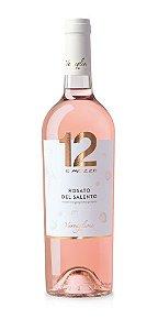 12 e Mezzo Rosato Del Salento IGP (750ml)