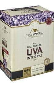 Suco de Uva Integral (3 L )  - Bag in Box