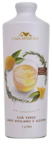 Casa Madeira Chá Verde com Limão Siciliano e Alecrim (1L)