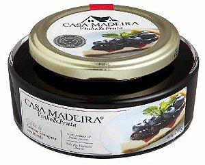 Casa Madeira Vinho & Fruta - Calda de Cab. Sauv. c/ Mirtilo (240g)