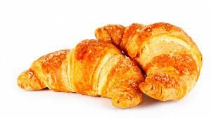 Mini Croissant sem Recheio (34 unidades) - Pacote 1kg