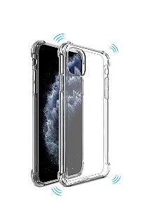 Capa Anti Shock Para IPhone 12 + Pelicula de Vidro + Cabo Carregador