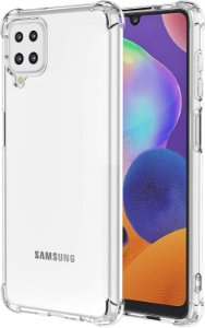 Capa Anti Shock Samsung Galaxy M12 + Pelicula de Vidro 3d + Cabo Carregador