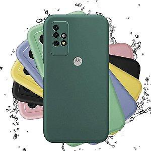 Capa de Silicone para Motorola Moto G10 G30