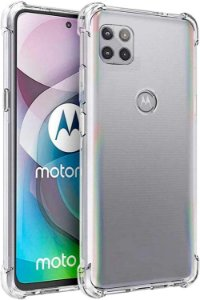Capa Anti Shock Motorola Moto G 5g + Pelicula De Vidro 3D
