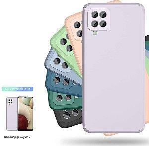 Capa de Silicone para Samsung Galaxy A22 4G