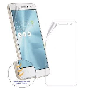"Pelicula Asus Zenfone 3 Max 5.2"" Polegadas ZC520 Tela Toda Completa Gel"