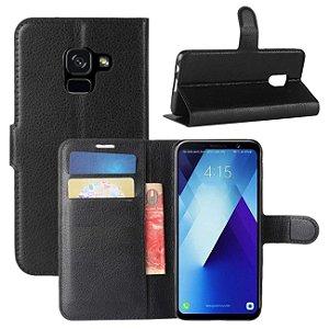 Capa Carteira Samsung Galaxy A8 Plus 2018