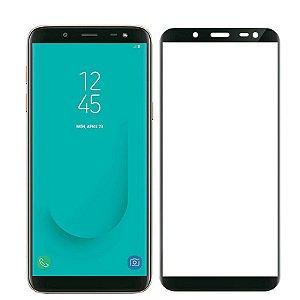Pelicula de Vidro 3D Samsung Galaxy J6 2018 Tela Toda